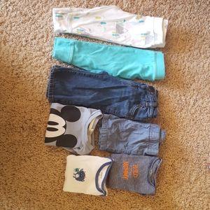 7 items baby boy bundle
